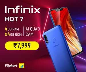 Infinix Hot 7 Mobile Banner