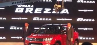 Maruti Suzuki unveils compact SUV Vitara Brezza