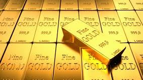 Gold prices down as easing trade worries lead to riskier bets