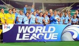 Indian Women Hockey Team won  World League Round 2; beats Poland by 3-1