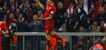 FOOTBALL: Record breaking Robert Lewandowski's 5 goals in 9 mins