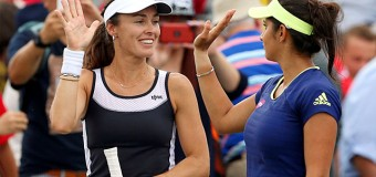 Martina Hingis partners Leander Paes, Sania Mirza to enter US Open finals