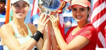 Sania Mirza-Martina Hingis Clinch US Open Women's Doubles Title
